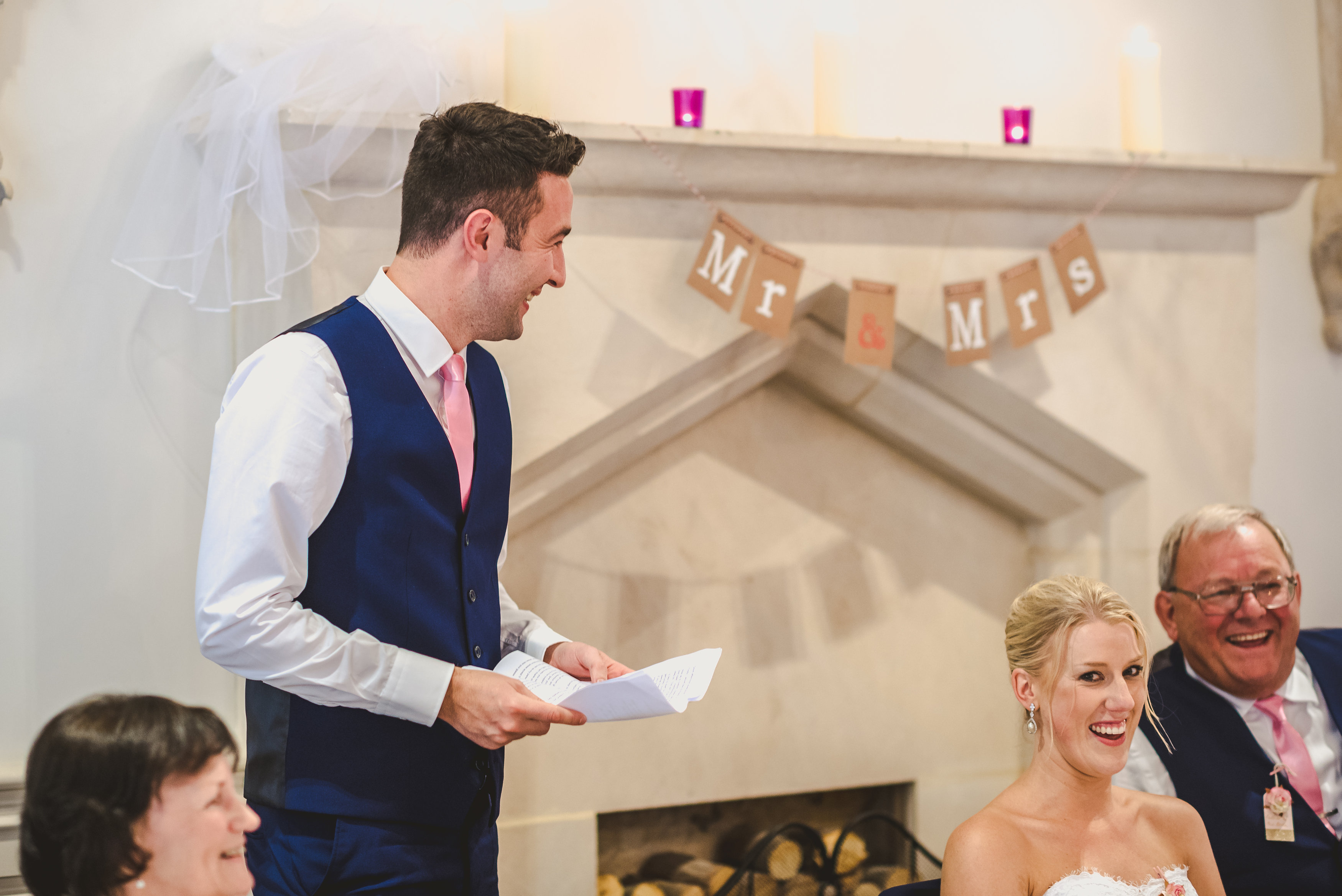 groom speech delivery