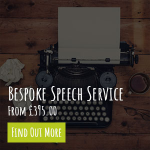 Bespoke Wedding Speech Writing