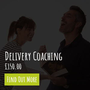 Speech Delivery Coaching Service