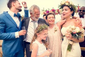 Mother and Father Wedding