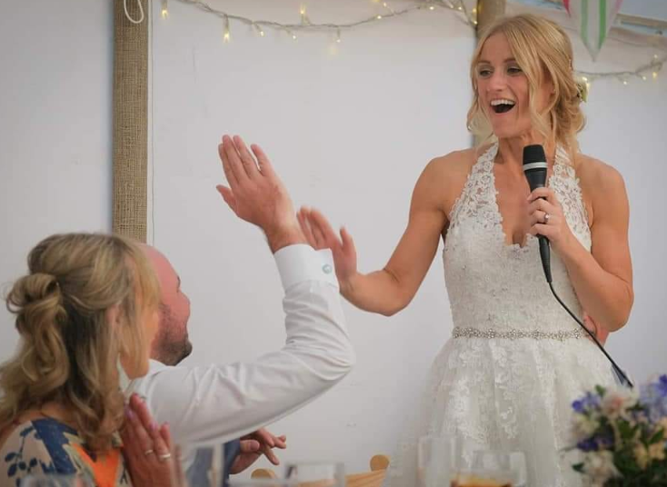 Wedding speech ideas