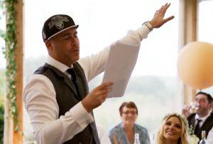 Wedding rap speech