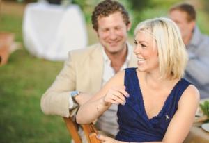 Wedding speech laughter