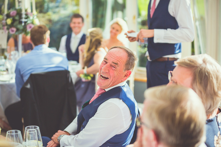 wedding speech laughter