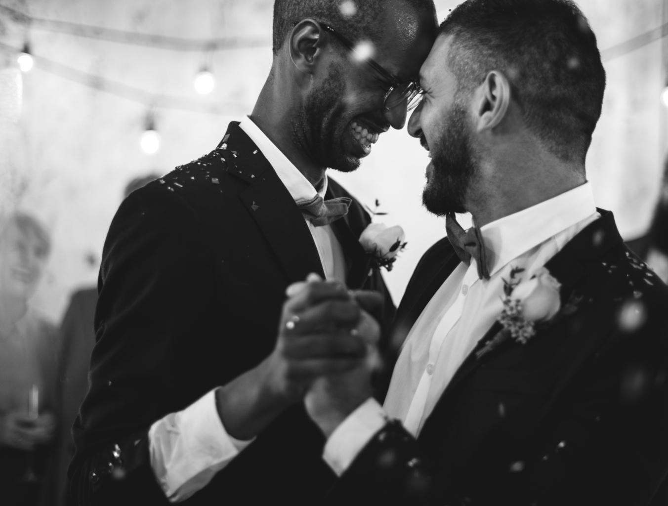 gay groom speech