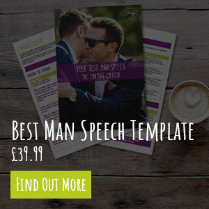 Best Man Speech Template