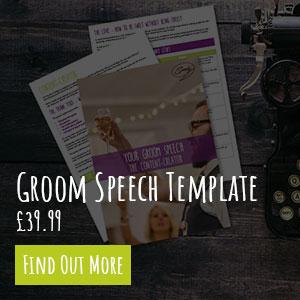 Groom Speech Template