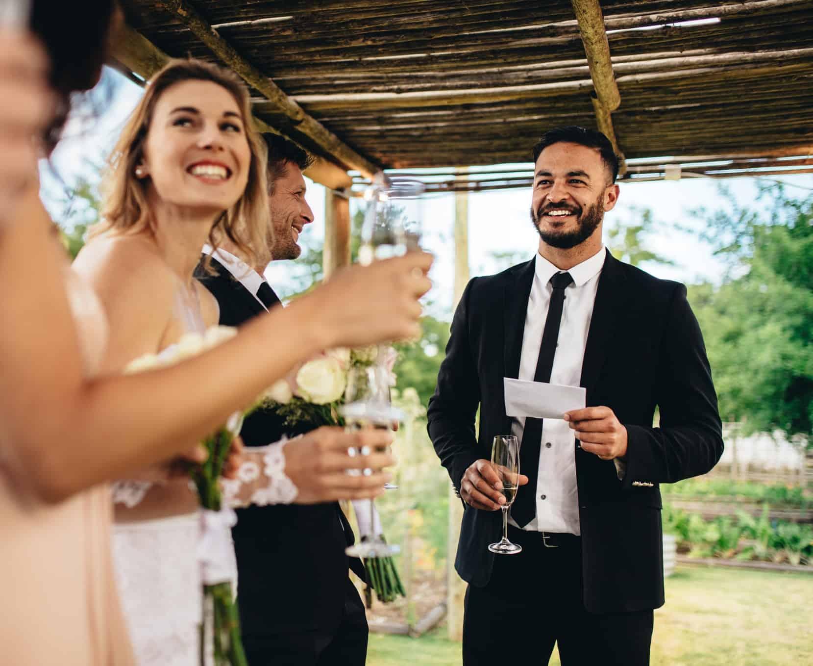 bespoke wedding speech