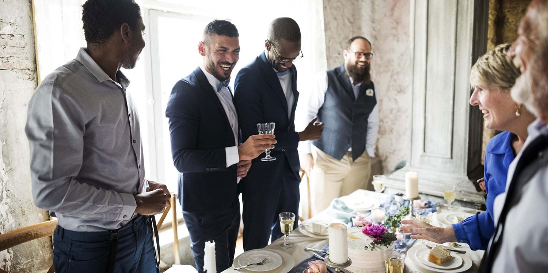 groom toast