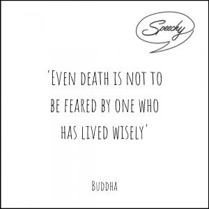 Buddha eulogy quote